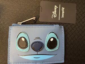 Loungefly Disney Lilo & Stitch Frog Cardholder ID Card Slim Wallet Coin Purse🐸