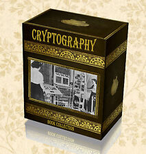 100 Rare Cryptography Books on DVD - World War 2 Enigma Secret Codes Ciphers F9
