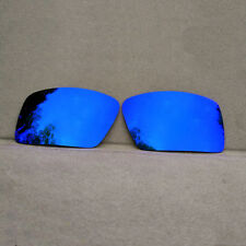 Purple Mirrored Replacement Lenses for-Oakley Eyepatch 2 Sunglasses Polarized