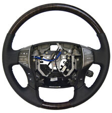2005-2012 Toyota Avalon Steering Wheel New Black W/Woodgrain Audio/Temp Control