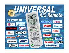 Universal AC A/C Remote Panasonic,Sharp,Kelon,Hyundai,Funai,Klimatair,Whirlpool