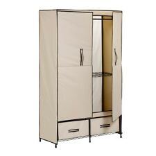 Honey Can Do Double-Door Wardrobe With 2 Drawers - WRD-01274
