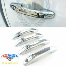 Triple Chrome door handle covers fits 2014-2020 Chevy Silverado Tahoe GMC Sierra