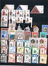 Gibraltar. Colección de sellos años 1975 a 1985. Valor de Catalogo 464.05