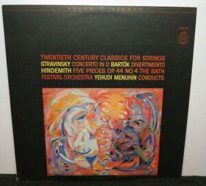 YEHUDI MENUHIN TWENTIETH CENTURY CLASSICS (NM) 36335 LP VINYL RECORD