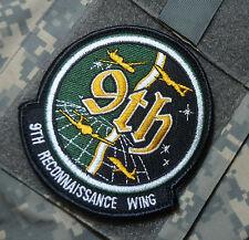 LOCKHEED SPY PLANE 9th SRW Strategic Reconnaissance Wing vel©®⚙ SSI (new design)