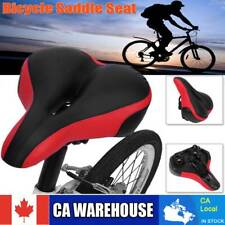 Wide Big Bum Bike Bicycle Gel Cushion Extra Comfort Sporty Soft Pad Saddle Seat.
