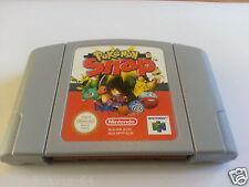Pokemon Snap (Nintendo 64 N64, PAL AUS/UK/EUR Free Shipping Wordwide VGC)