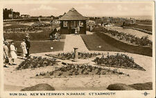 GREAT YARMOUTH (Norfolk) :Sun Dial,New Waterways ,N.Parade RP-PLC