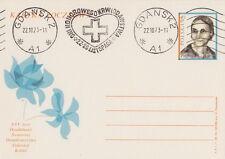 Poland postmark GDANSK - medicine Red Cross blood donation