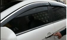 Kia Sportage CHROME EDGE Window Wind-Rain Deflectors Stick-On-Type  2010-2015