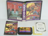 Mega Drive SPLATTER HOUSE PART 3 GOOD Condition Ref/2141 Sega Japan md