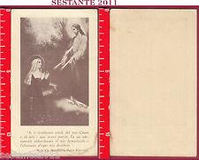 2875 SANTINO HOLY CARD S. SANTA MARGHERITA ALACOQUE SACRO CUORE GESù CRISTO