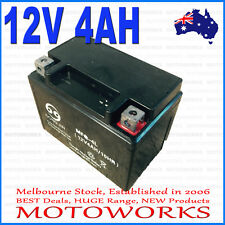 12V 4AH Battery 50cc 70cc 90cc 110cc 125CC ATV QUAD Bike Gokart Buggy Dirt Pit