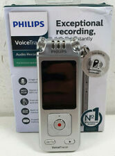 Philips VoiceTracer Audio Recorder DVT4110 For Lectures Interviews Portable