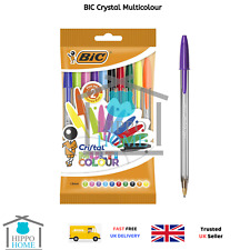 Bic Crystal Multicolour – Pen Bag Pack of 10 multicoloured 10