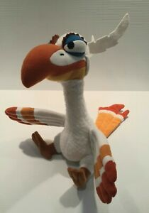 Zazu White Plush Toy Small 19cm Lion King Broadway Musical Walt Disney Bird