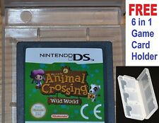 Animal CROSSING WILD WORLD DS-Nintendo DS, DSI, 3DS Ufficiale Gioco Carrello * animl