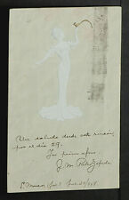FRANCE 1721-Les Femmes Modernes-En Relief-ART NOUVEAU-New-Gaufré-Embossed-1904