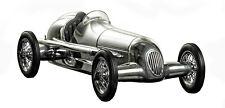 "1934 W 25 Mercedes Benz Silver Arrow Silberpfeil Model 12"" Formula Racing Car"