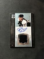 2007-08 UPPER DECK THE CUP RYAN PARENT ROOKIE AUTO PATCH SILVER #ed 135/249
