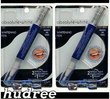 Teeth Whitening Gel Pen, 2x Absolute White, Dr Fresh, The Cheapest on Ebay
