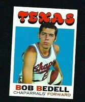 NM 1971 Topps Basketball #153 Bob Bedell.