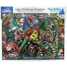 Ugly Christmas Sweaters 1000 Piece Jigsaw Puzzle Gift Xmas Holiday Fun Winter