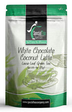 White Chocolate Coconut Latte Loose Leaf Green Tea 1 oz. Inc. 10 Free Tea Bags