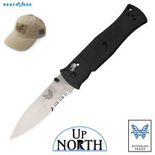 Benchmade 530S Pardue AXIS Knife 154cm Serrated Spear-Point Blade FREE HAT