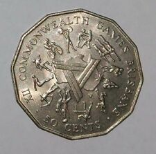 Australian 1982 Commonwealth Games Brisbane 50 cent coin Collectible