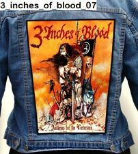 3 Inches of Blood   Back Patch Backpatch ekran new