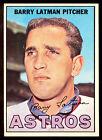 1967 TOPPS OPC O PEE CHEE BASEBALL #28 BARRY LATMAN NM HUSTON ASTROS CARD