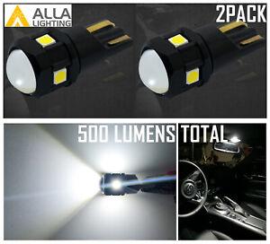 168XL LED Courtesy Light Bulb Dome Light Bulb Indicator Light w/ Projector Lens