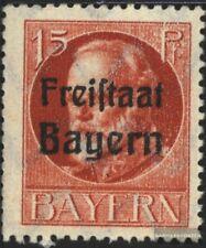 Bayern 156A postfrisch 1919 König Ludwig mit Aufdruck