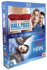 Hall Pass/Yes Man Blu-ray (2012) Owen Wilson ***NEW***