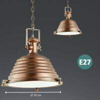 Pendelleuchte Kupfer Retro Industrie Vintage Hängelampe Deckenlampe Wohnzimmer