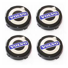 4X Alloy Wheel Centre Caps For VOLVO 64mm Badges Hub Emblem C70, S60, V60, V70