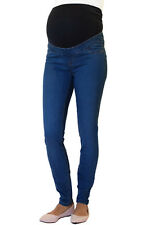 Maternity New Look Over Bump Skinny Jeggings, UK Slim Pregnancy Stretchy Jeans