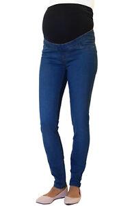 Maternity New Look Over Bump Skinny Jeggings, UK Slim Pregnancy Stretchy Jeans