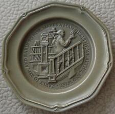 Early To Bed... - Franklin MInt Miniature Collectible Plate - VGC BRONZE