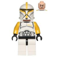LEGO Star Wars Yellow Clone Trooper Commander Minifigure 75019 sw0481