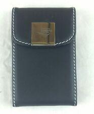 New Black Pocket Leather Business ID Credit Card Holder Case Wallet