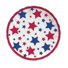 Patriotic Red White and Blue Stars 11 Inch Paper Tray
