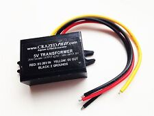 5V Converter – Stepdown Transformer, Input 12V, 24V, up to 30V Aircraft/Airplane