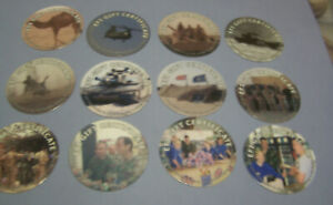 BRITHISH  EFI  1st Print  10 Cents  full set of all 12  Pogs  from 2004  RARE