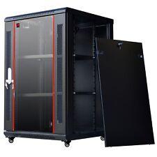 18U 450 deep HQ IT Wall Mount Network Server Cabinet Case Box PDU Shelf Feet Fan