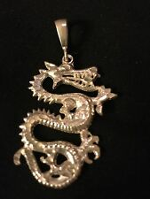 Sterling Silver .925 Dragon Charm Team  Pendant