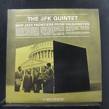 The JFK Quintet - New Jazz Frontiers From Washington LP VG+ RLP 396 Mono Record
