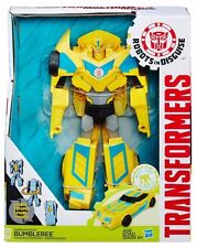 RARE Transformers Robots In Disguise 3 Step Changer Energon Boost Blue Bumblebee